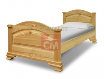 """Кровать """"Акатава c резьбой"""""""