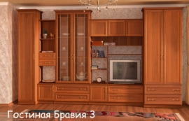"""стенка   """" БРАВИЯ - 3 """""""